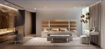 Dormitorio contemporáneo 35