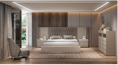 Dormitorio contemporáneo 36